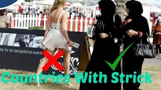 Video 5 Countries with Very strict dress codes policy download MP3, 3GP, MP4, WEBM, AVI, FLV Juni 2018