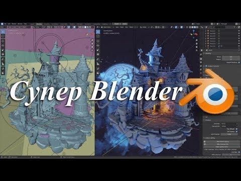 """Практический видеокурс по созданию 3D-графики и визуальных эффектов """"Супер Blender"""""""