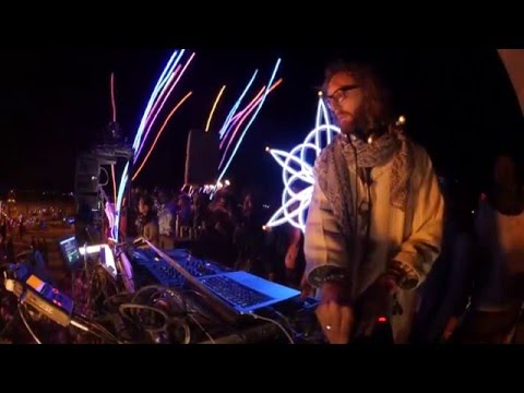 Acid Pauli Live at Burning Man 2015
