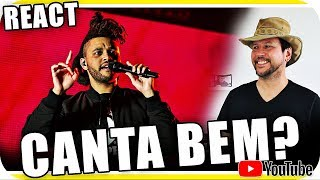 THE WEEKND Studio vs Live Performance - Marcio Guerra Reagindo React Reação