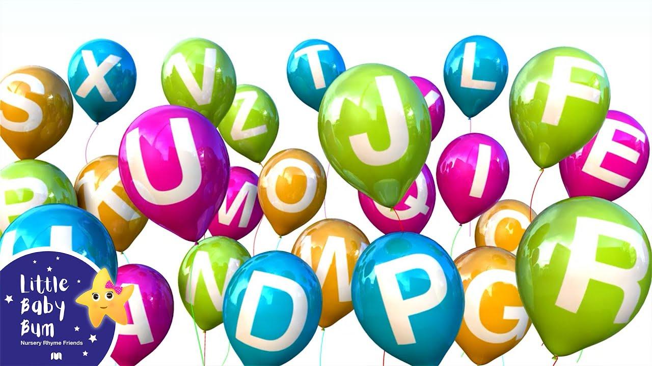 ABC Balloons   Kids Songs & Nursery Rhymes   ABC & 123   Little Baby Bum
