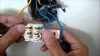 Substituição de Interruptor Duplo