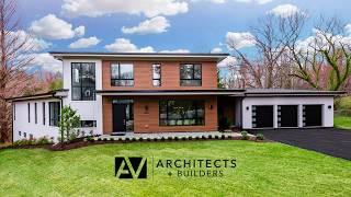 Tour Of Modern Custom Home In Mclean Va | Av Architects + Builders