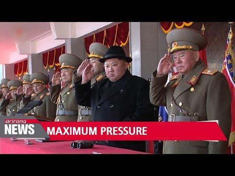 Pence declares 'maximum pressure' on North Korea