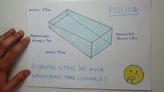 Aprendo - Capacidad Volumen Piscina - Matemáticas