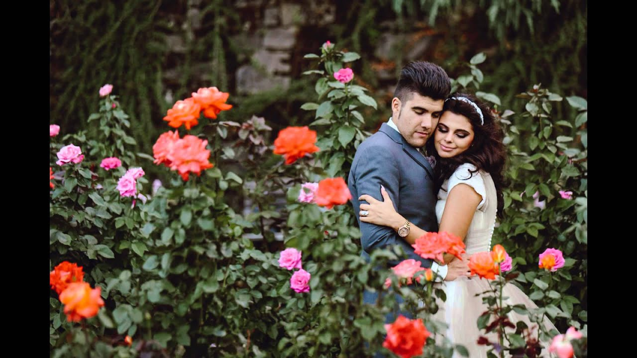 Washington Park Rose Garden Wedding Portland Or Catalina Jean Photography