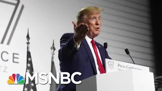 Did Trump Violate The Constitution Plugging His Own Club To Host Next G7? | The 11th Hour | MSNBC