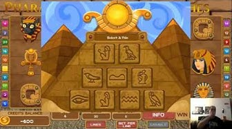 Slots – Pharaoh's Riches - Wii Play Series