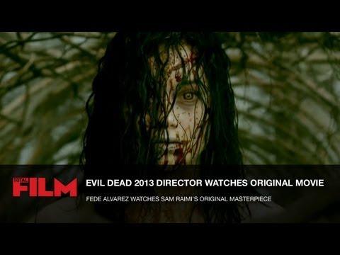Evil Dead 2013 Director Watches Sam Raimi's Original Masterpiece