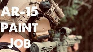 How to spray paint AR15 | SOF | Combat Rifle