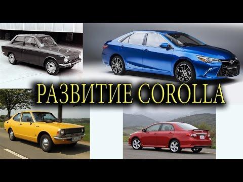 Toyota Corolla | История Развития | Все Модели Легендарного Автомобиля.
