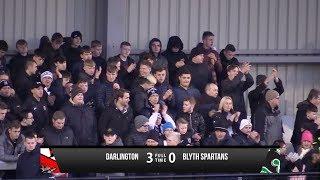 Darlington 3-0 Blyth Spartans - Vanarama National League North - 2017/18