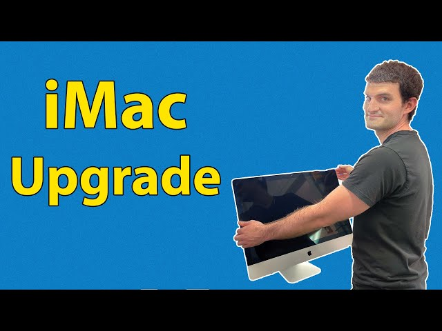 Upgrading iMac A1419 2019 to 2TB SSD and Fixing the Screen Display