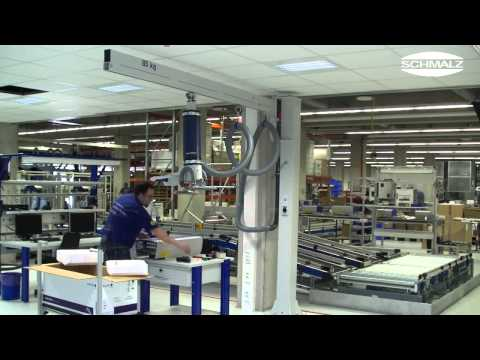 COMBINA - SCHMALZ Vacuum Lifter - เครื่องยกกล่อง, กล่องเหล็ก, กล่องกระดาษ