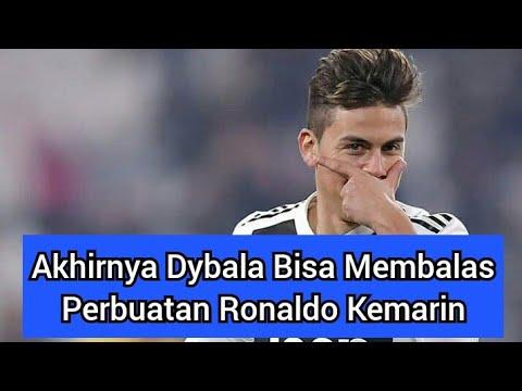 Akhirnya Dybala Membalas Perbuatan Ronaldo Soal Selebrasi Goal