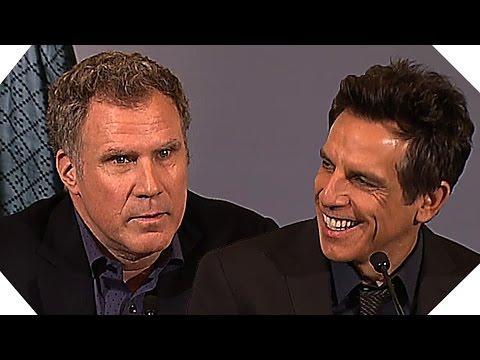 ZOOLANDER 2 : les acteurs à Paris (Conférence de Presse)