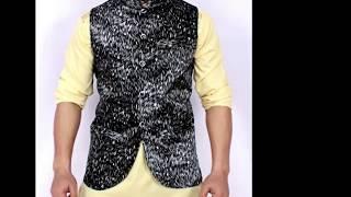 Decent Look Mens Kurta Shalwar Waistcoat Designs 2018   Men s Fashion