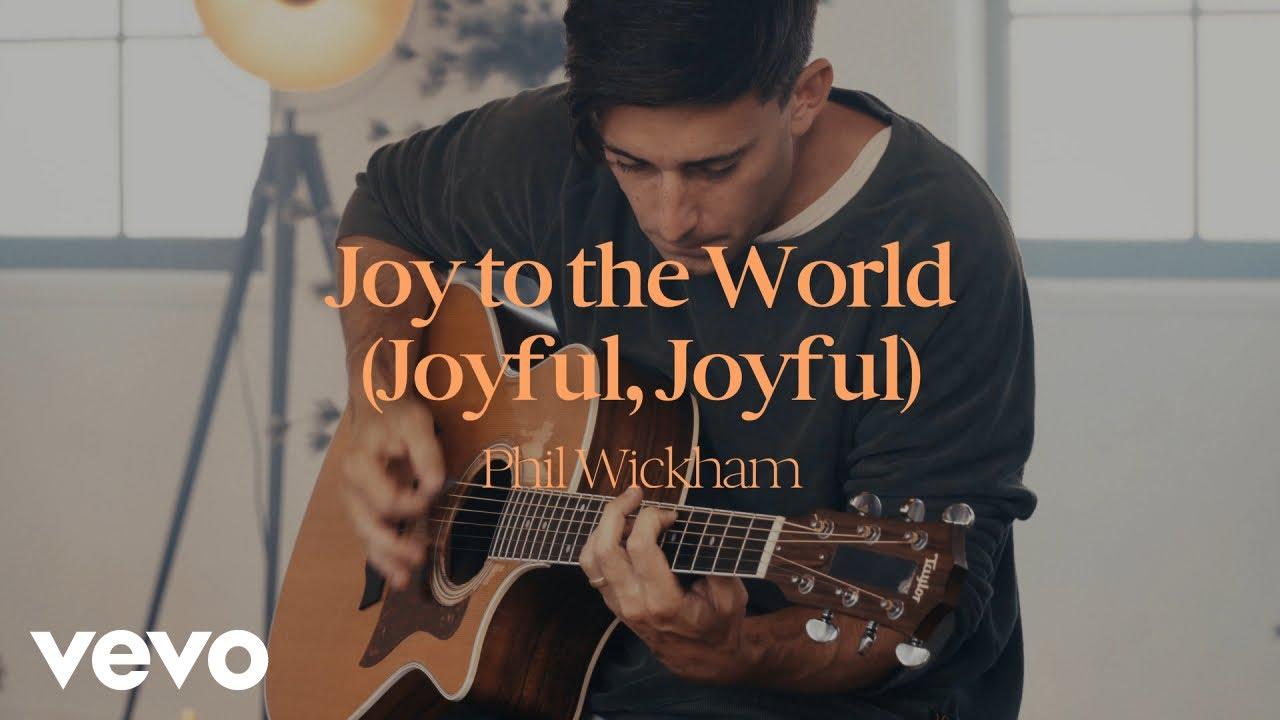 Phil Wickham - Joy To The World (Joyful, Joyful) (Acoustic Performance)