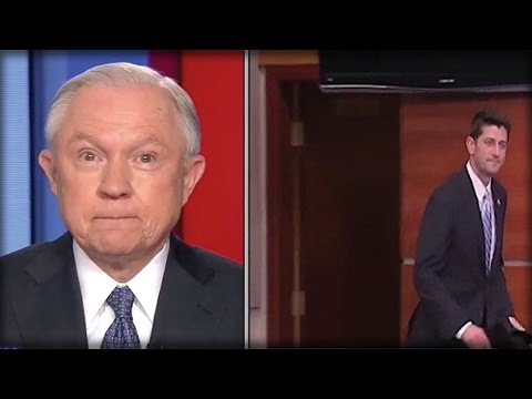 JEFF SESSIONS HAS HAD ENOUGH OF PAUL RYAN, WHAT HE JUST SAID WILL RUIN HIM!