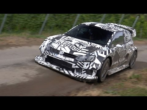 S bastien Ogier VW Polo R WRC 2017 Tests Rallye Deutschland flatout