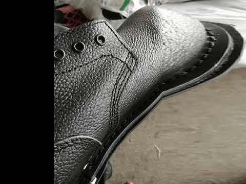 Full Grain Military Leather Shoes Wholesale
