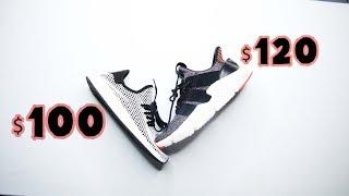 Adidas DEERUPT  VS Adidas PROPHERE // $100 VS $120