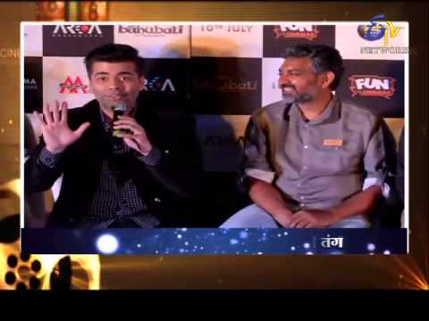 Cininama-karan Johar And Bahubali Team-Bahubali Movie Special On 4th June 2015
