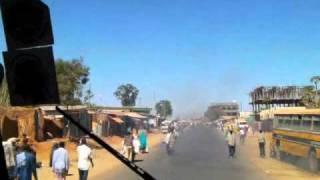 Ethiopia: From Jijiga to Harar by Minibus エチオピア旅行