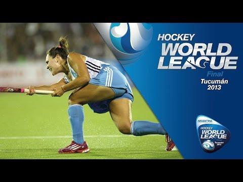 New Zealand v Argentina - Women Hockey World League 2013 [01/12/2013]