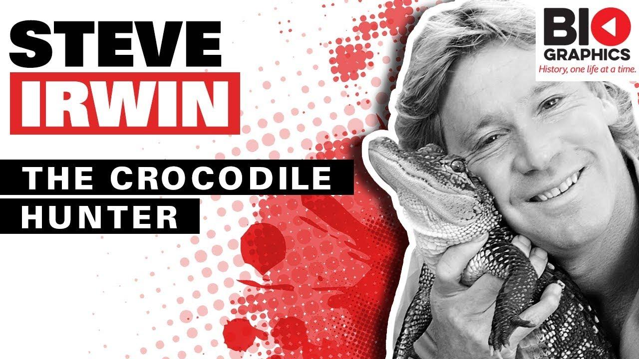 Steve Irwin Biography The Crocodile Hunter Youtube