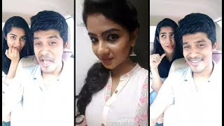 Arun Sanjana Real Couple & Tamil Cute girls Dubsmash /tamil kuruvi