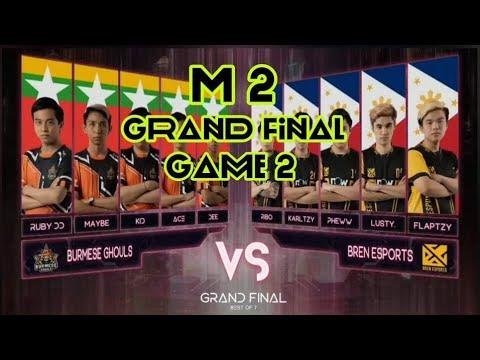 Download M2 Grand Final Burmese Ghouls Vs Bren Game 2