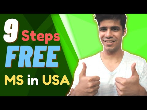 Fully Funded MS in USA - 9 Important factors for a funded MS in USA (with Scholarship)