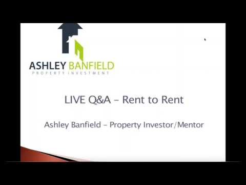 Live Rent to Rent Q&A Session
