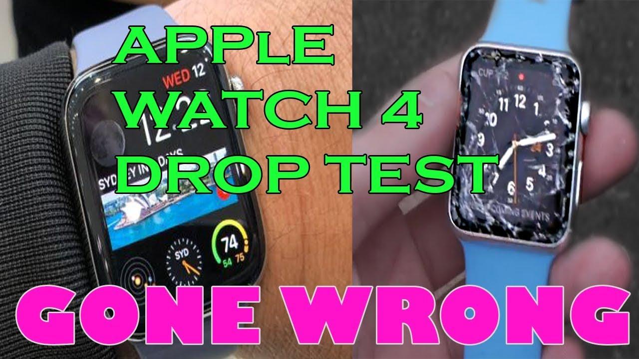 Apple Watch Series 4 Drop Test Youtube