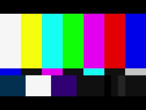 SMPTE Color Bars with 1kHz Test Tone - 1920x1080 - 90 Minutes