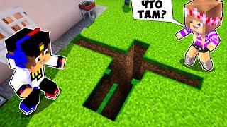 Майнкрафт но КУДА ведет этот СТРАННЫЙ ПРОХОД от Голема в Майнкрафте Троллинг Ловушка Minecraft
