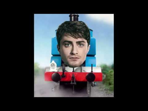 "Daniel Radcliffe Raps Blackalicious' ""Alphabet Aerobics"" (Thomas the Tank Remix)"
