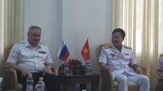 Tư lệnh Hải quân Liên bang Nga thăm Học viện Hải quân Việt Nam