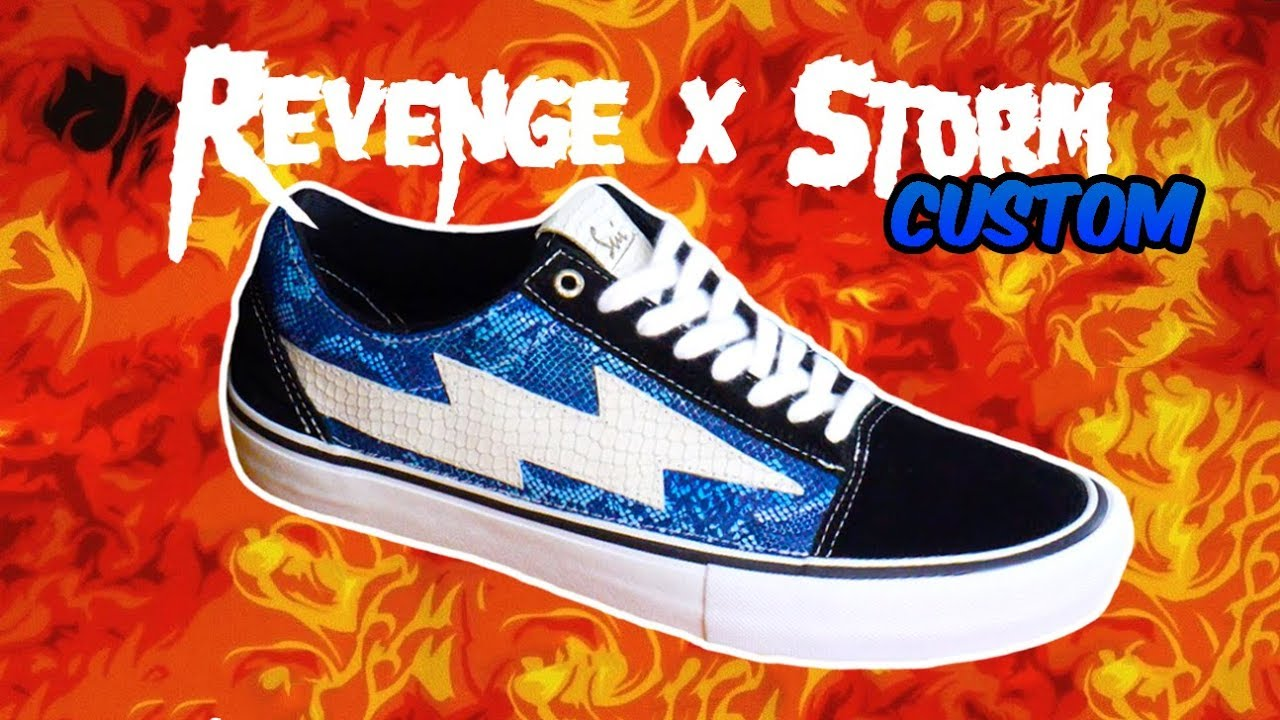 REVENGE x STORM Vans Old Skool Pro