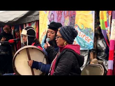 Rising Appalachia Performs at Standing Rock