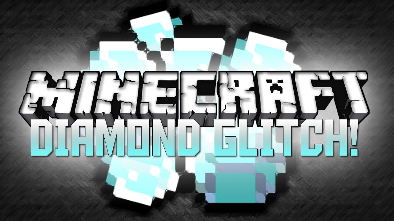 7a8003ef2060 Minecraft  INFINITE DIAMOND GLITCH! (Minecraft Glitch Tutorial ...