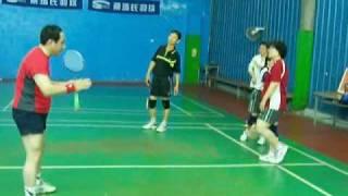 羽球教學03-前進後退步伐