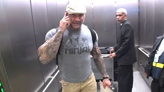 Former WWE Wrestler And UFC Fighter Dave Bautista Is Team Mayweather