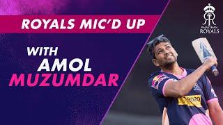 Royals Mic'd Up   Amol Muzumdar & Riyan Parag