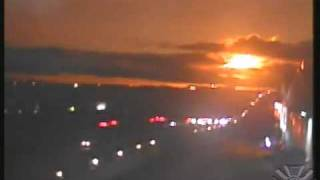 Fire in the Sky : A Meteor lights up the night sky over Southern California (Nov 07, 2013)