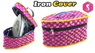 Easy Iron Cover Craft Idea | Make Unique IRON CASE from Old Clothes | Life Hacks