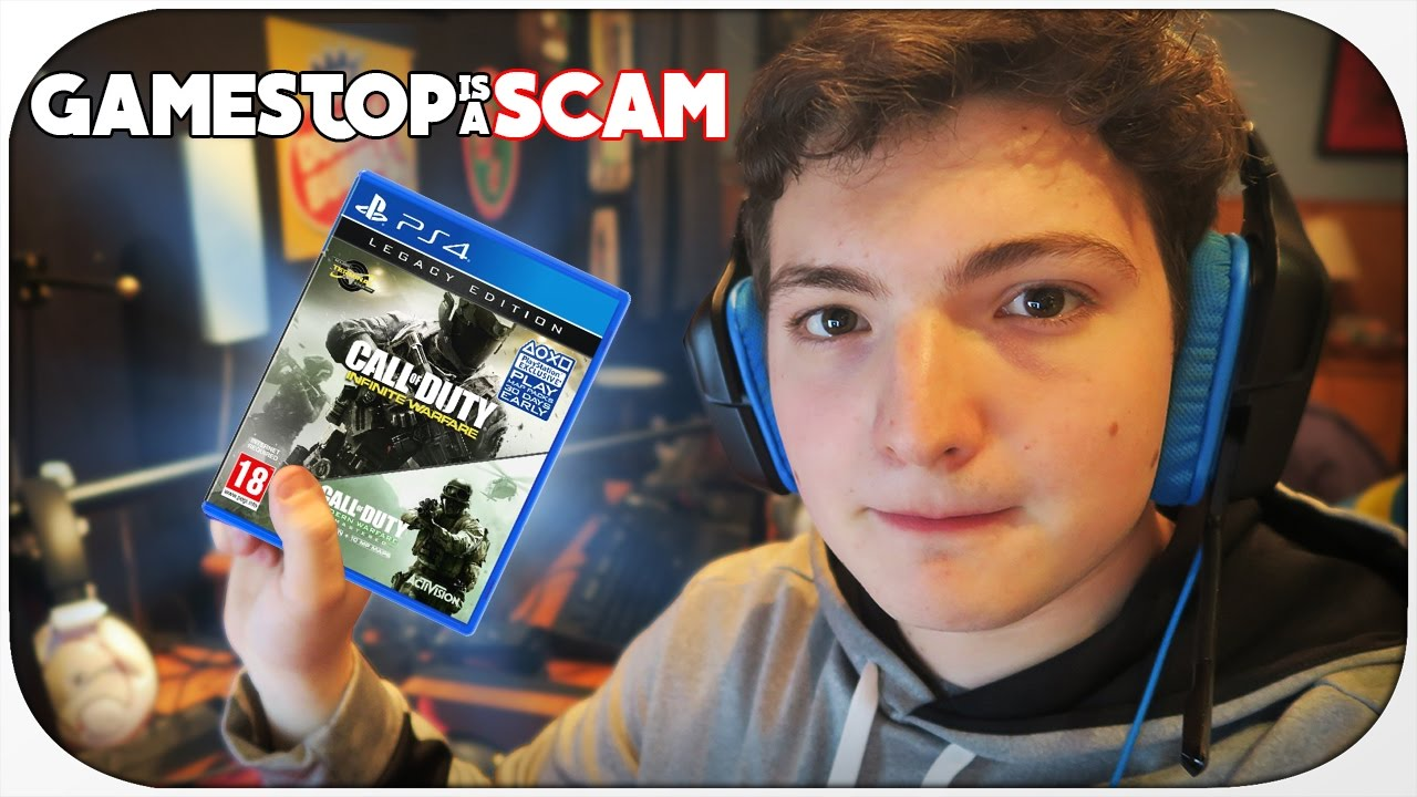 Gamestop Is A Scam Trade In Value Scam Youtube