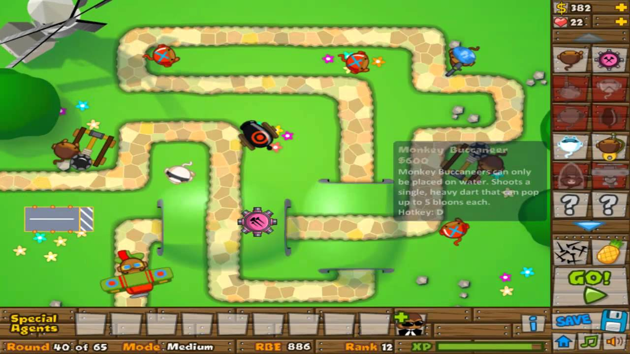 Play Bloons Super Monkey - New Free Online Game - Ninja Kiwi