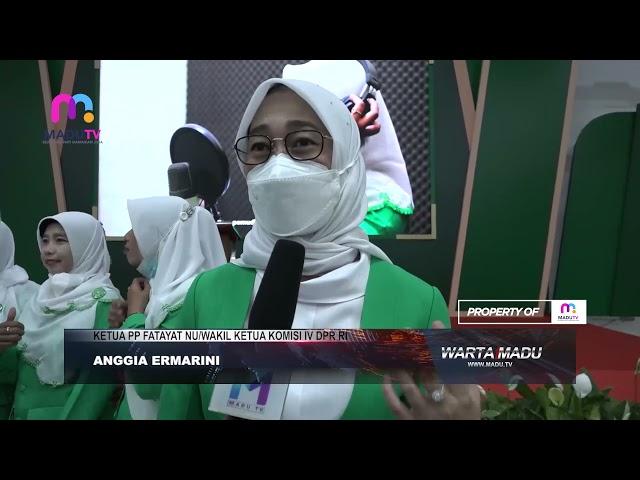 Tulungagung - Pelantikan Pimpinan Cabang Fatayat Nahdlatul Ulama Kabupaten Tulungagung